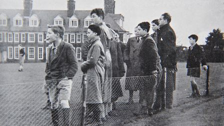 The young people had been staying at Pakefield holiday camp but had to evacuate when a harsh winter