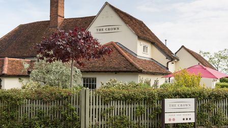 The Crown in Stoke by Nayland Picture: Leon Day Images