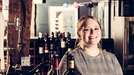 Amy Challis, restaurant manager at the Unruly Pig, was particularly praised by judges Picture: CLAUD