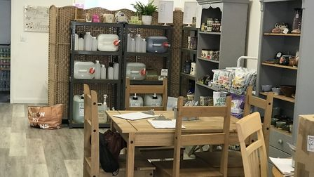 Allison's Eatery is the first vegan cafe in Bury St Edmunds. Picture: Victoria Pertusa