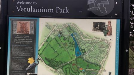 Verulamium Park, home to the weekly St Albans parkrun. Picture: CARL MARSTON