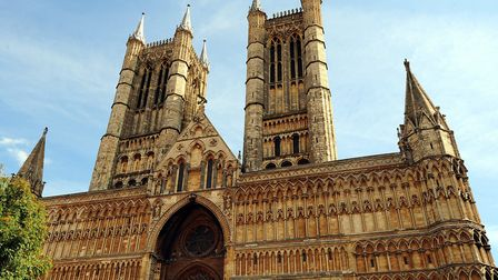 A general view of Lincoln Cathedral. Picture: PA