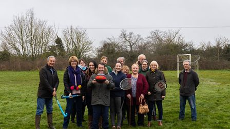 Tunstall residents get ready for a potential new multi-use games area after a planning application w