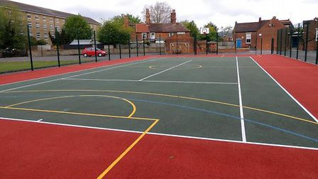 Tunstall may soon benefit from a mulit-use games area after a year of securing grants and fundraisin