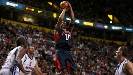 Kobe Bryant of the USA during an Olympic warm up match Photo: PA