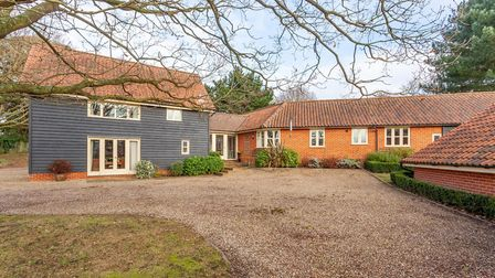 Church View Lodge at Bromeswell is on the market for �895,000 Picture: JIM TANFIELD/INSCOPE IMAGES