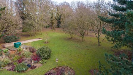 Part of the gardens with their mature trees Picture: JIM TANFIELD/INSCOPE IMAGES