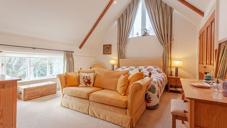 A bedroom at Church View Lodge in Bromeswell, near Woodbridge Picture: JIM TANFIELD/INSCOPE IMAGES