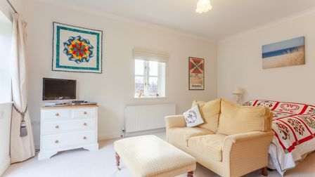 A bedroom at Church View Lodge, Bromeswell Picture: JIM TANFIELD/INSCOPE IMAGES