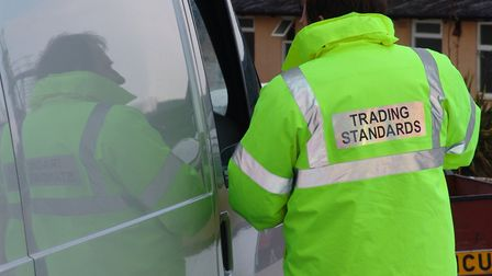 The work of Suffolk Trading Standards has been praised for protecting residents and businesses Pict