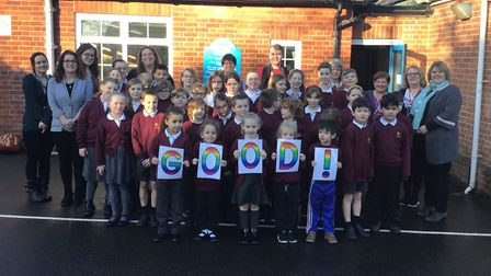 Middleton Primary School said it is delighted following its 'good' rating by Ofsted Picture: MIDDLE