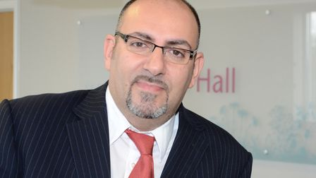Dr Thanos Papathanasiou, Medical Director, Bourn Hall Clinic Picture: BOURN HALL