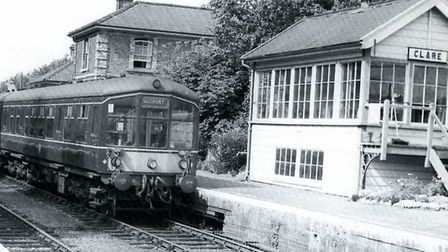 The line between Sudbury and Cambridge closed in 1967. This picture was taken two years earlier. Pic