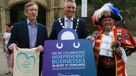 Independent businesses in Bury St Edmunds are celebrated as one of the reasons people come to live