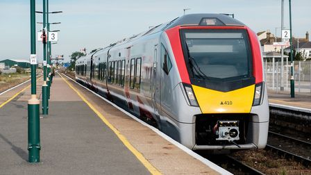 Buses will replace trains between Beccles and Lowestoft for two weeks. Picture; GREATER ANGLIA