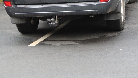 Nuisance and inconsiderate residential parking will be reprimanded in Woodbridge from April 6. Pictu
