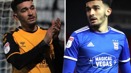 Idris El Mizouni had been enjoying his loan spell at Cambridge United from Ipswich Town. Picture: AR