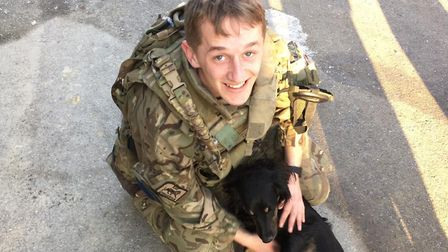 Joseph Berry, 21, died in Afghanistan at the end of February Picture: MINISTRY OF DEFENCE