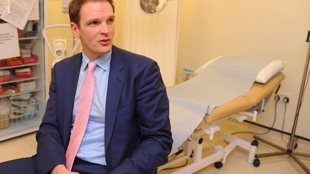 Central Suffolk and North Ipswich MP Dr Dan Poulter has raised concerns over NHS pension changes. Pi