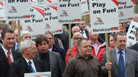 The government needs to be prepared to take on potential fuel protests and increase duty - but will