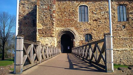 The gateway to a night of fun and adventure at Colchester Castle, Europe's oldest Norman Keep, built