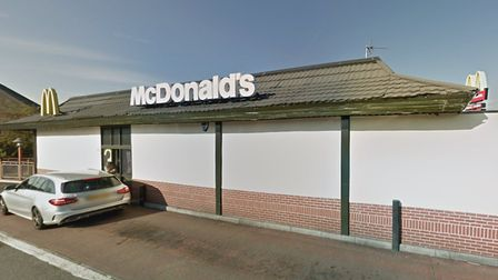 Police were called to the McDonalds in Cressing on Thursday morning Picture: GOOGLE MAPS