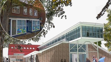 Buidling plans for the new community youth and arts centre in Woodbridge Picture: SCOTT MORTIMER ARC