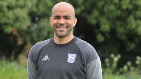 Kieron Dyer, who was capped 33 times by England, is still regularly at Playford Road. Photo: Sarah L