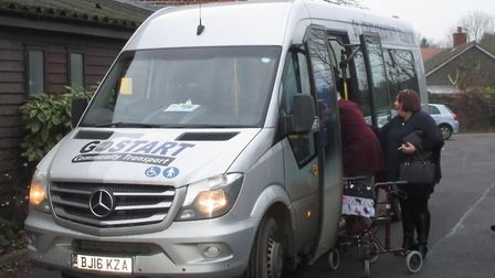 GoStart is a community bus service based in Sudbury and is to take over operation of the 112 route.