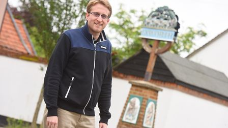 Ben Lord, chairman of Ixworth Parish Council, is bringing back a coffee shop to Ixworth High Street