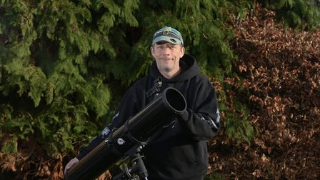 Astronomer, Neil Norman Picture: SARAH LUCY BROWN