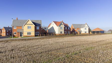 Taylor Wimpey is building 320 more homes on its Lark Grange estate, in Bury St Edmunds. Picture: J W