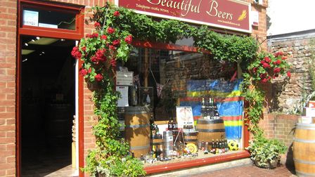 Pop into Beautiful Beers, Bury St Edmunds, and try some of the world's best beers Picture: B