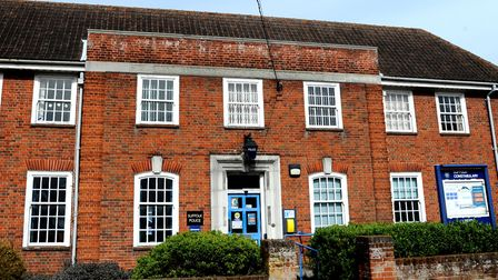 The old Leiston Police Station Picture: SIMON PARKER
