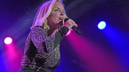 Queen Machine Symphonic with Kerry Ellis at Scarborough Open Air Theatre, Photo Geoff Ford