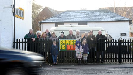 Campaigners for a four village bypass in Farnham were left disappointed when the project failed to s