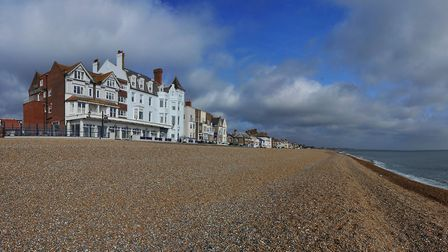 The Brudenell Hotel is just a few steps from the North Sea in Aldeburg Picture: Brudenell Hotel