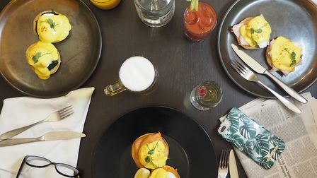 Brunch at Stoke by Nayland Hotel Picture: Stoke by Nayland Hotel