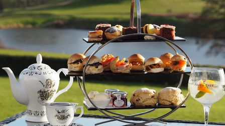 Afternoon tea at Stoke by Nayland Hotel Picture: Stoke by Nayland Hotel