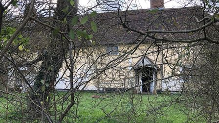 The fire started on the ground floor of a Grade II-listed property in Felsham, Suffolk Picture: MARK