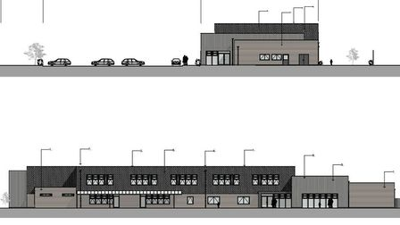 The designs for the new Thurston CofE Primary Academy building. Picture: CONCERTUS DESIGN & PROPERTY