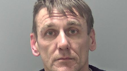 Darryl Barfield, who has been jailed for five years for burgling the home of a man he met at an alco