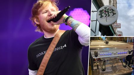 A Norfolk company has fitted the espresso machine in Ed Sheeran's new London bar. Picture: BEN BIRC