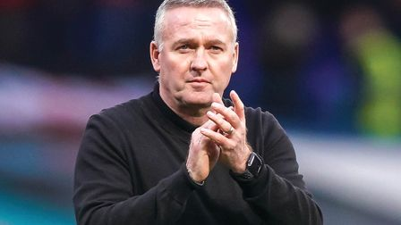Ipswich Town manager Paul Lambert has urged supporters to get behind his side this weekend. Photo: S