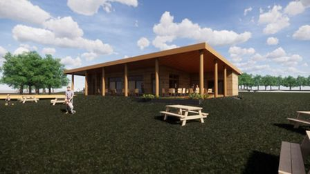 The first look at plans for the new Needham Lake visitor centre. Picture: HAMSON BARRON SMITH