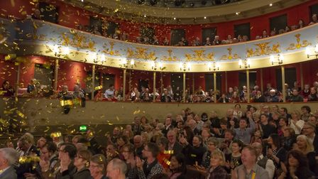 Theatre Royal Bury St Edmunds recently celebrated its 200th anniversary Picture: AARON WEIGHT