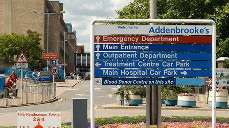 Addenbrooke's Hospital in Cambridge has identified a likely case Picture: PAUL GREEN