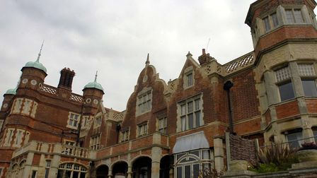 Bawdsey Manor needs improved protection from the sea Picture: LUCY TAYLOR