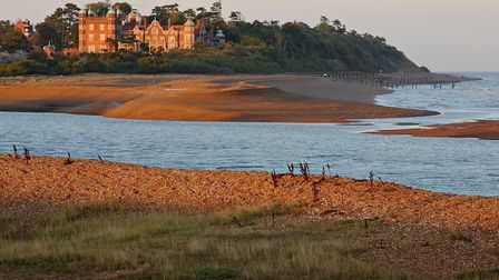 Bawdsey Manor and the Deben estuary Picture: GRAHAM MOSS