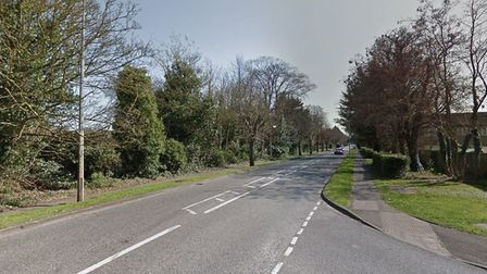 Stephen Clancy reached speeds of 90mph along Fordham Road in Newmarket Picture: GOOGLE